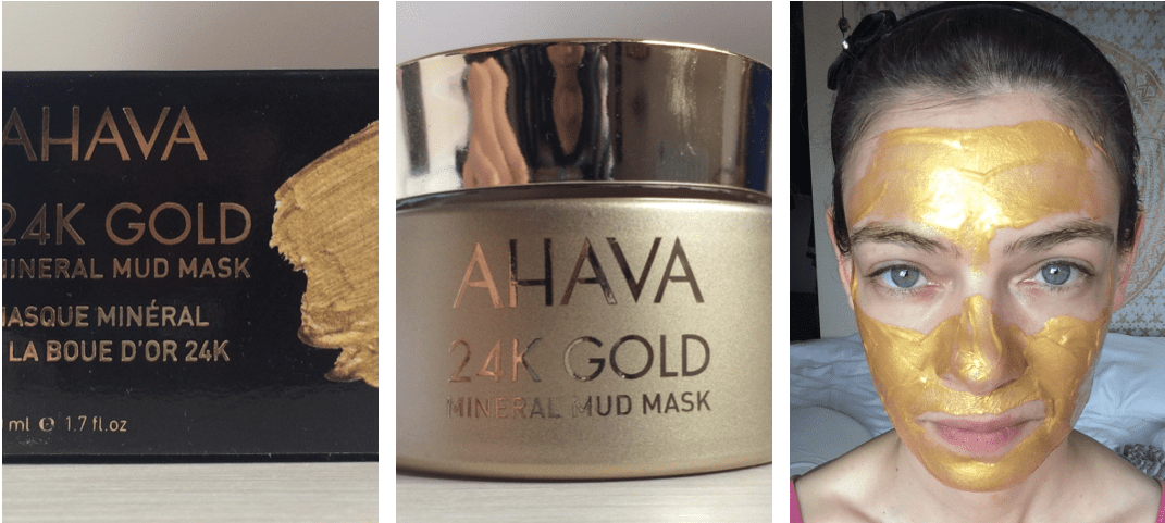 AHAVA 24K Gold Mineral Mud Mask