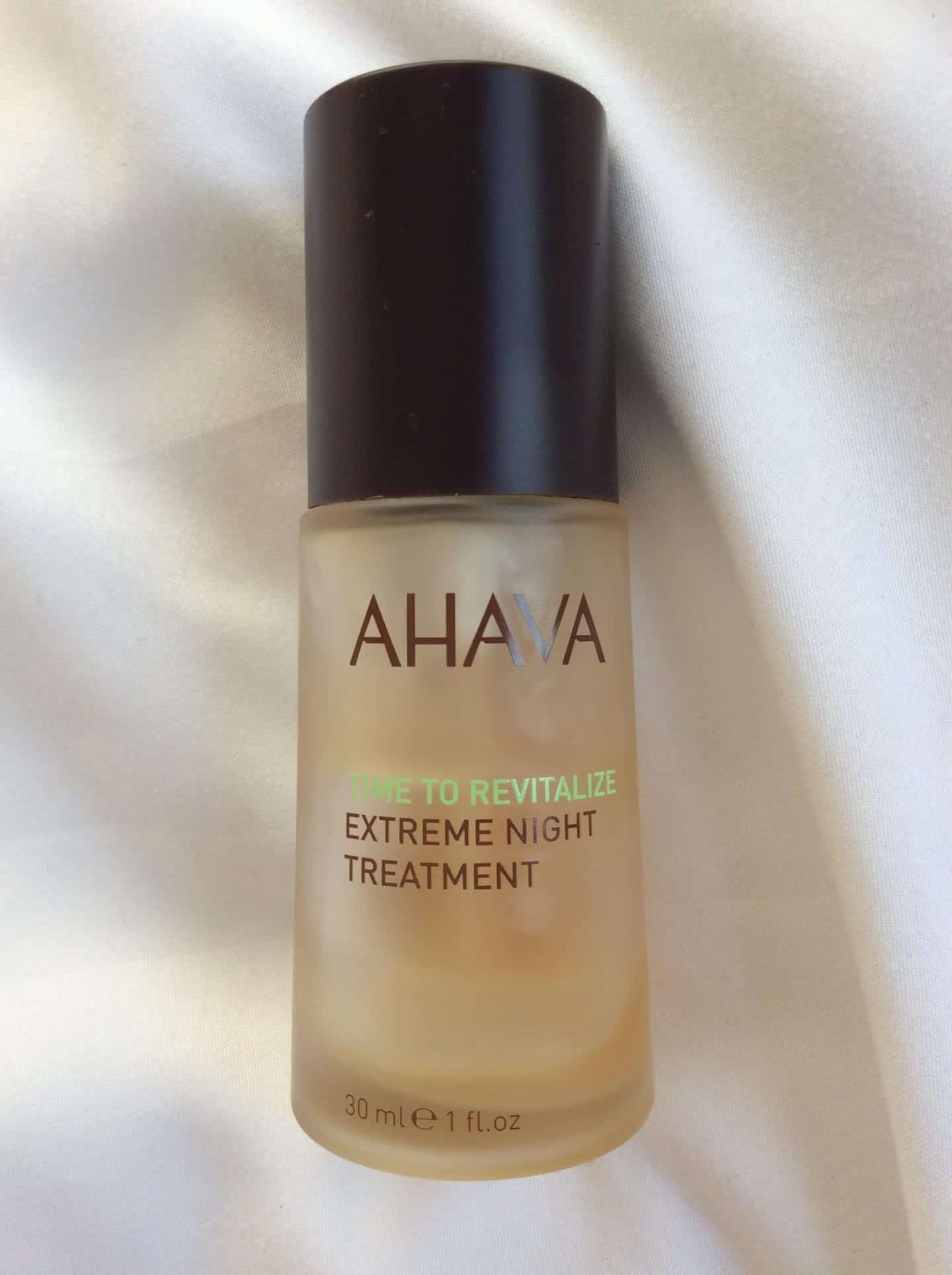 AHAVA Extreme Night Treatment - Why You Need a Facial Oil in Your Skincare Routine