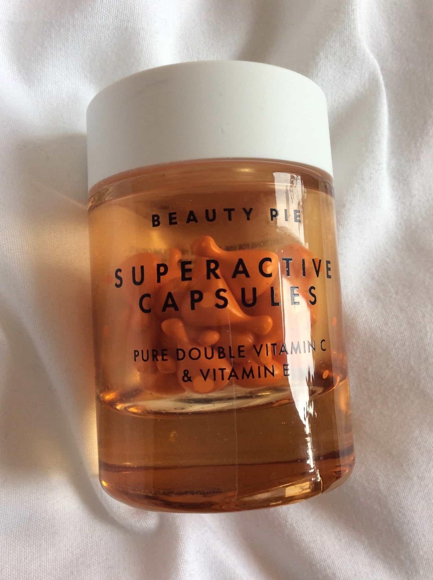 Beauty Pie Superactive Capsules Pure Double Vitamin C & Vitamin E