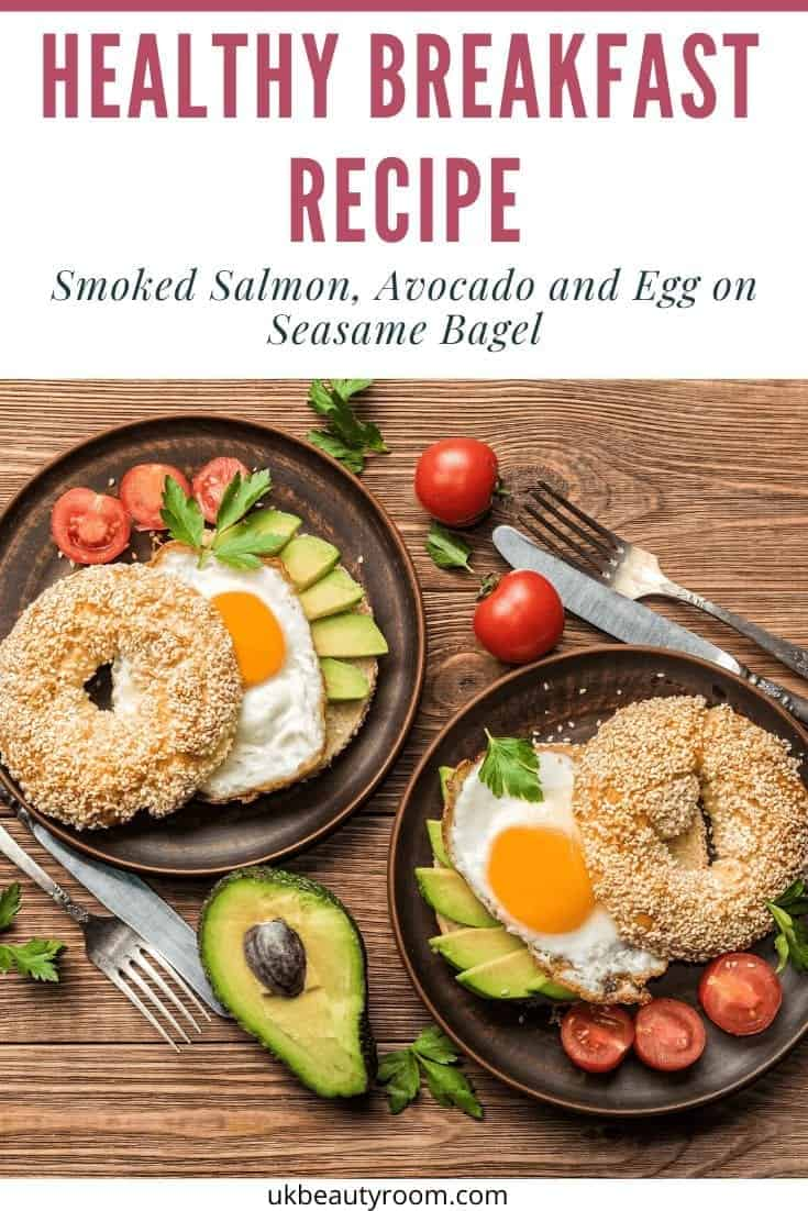 Quick Healthy Breakfast Recipe for Weight Loss.  Easy clean eating idea includes eggs, salmon, avocado and spinach.  High in omega 3 fatty acids and protein. Mornings on the go. Low carb, meals, tips, living, motivation, eating. Source of magnesium, B vitamins, selenium & vitamin D.