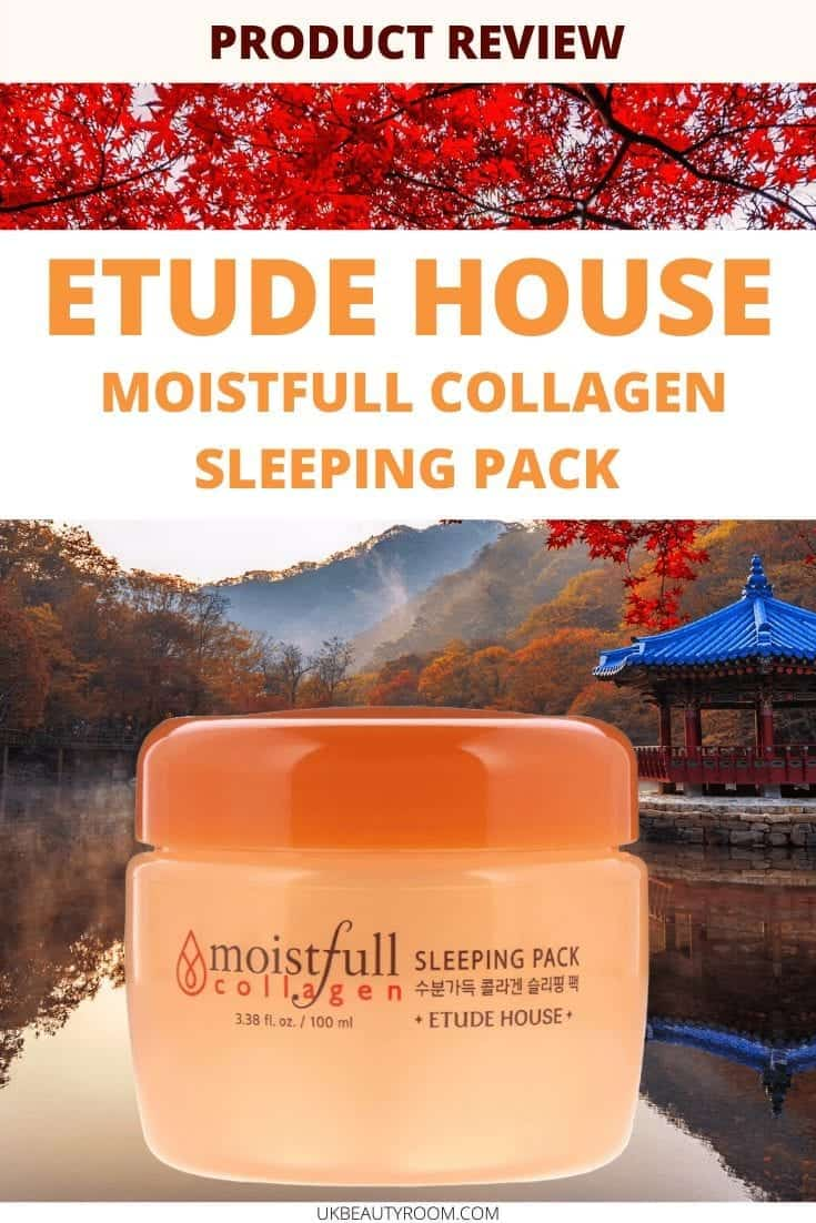 Etude House Moistfull Collagen Sleeping Pack, Korean Skincare Review, Flawless Skin, Moisturizer, Products, Routine, Before and after, Beauty, anti aging tips, best essence, mask, steps, hacks, on a budget, faces, mask, collagen, set