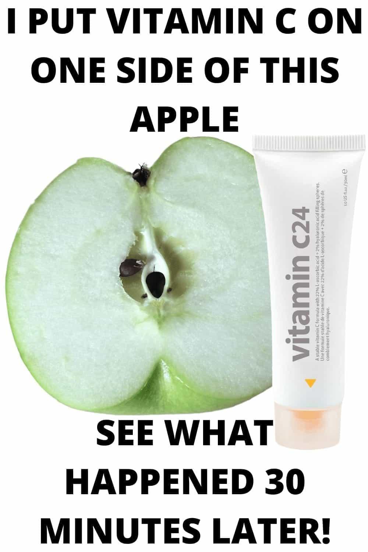 Vitamin C Serum in your skincare