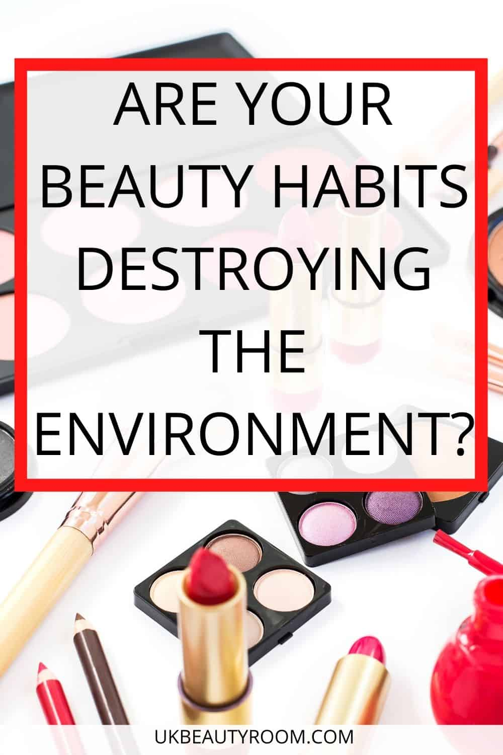 Environmental Issues in the Beauty Industry, Are your beauty habits destroying the environment?  The beauty industry is one of the worst contributors to un-recyclable plastic in the world.  Most people don't realise the average moisturiser pot takes nearly 1,000 years to decompose.  I look at five brands who have committed to environmental sustainability and managing their ecological footprint.