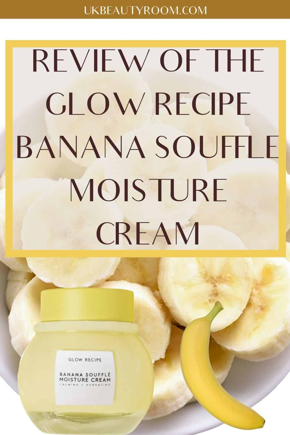The Banana Soufflé Moisture Cream is the latest product by Glow Recipe, a Korean brand that makes fruit-themed skincare. The brand's cult product is their Watermelon Glow Sleeping Mask and they are also known for their Blueberry Bounce Gentle Cleanser, Pineapple-C Bright Serum and Avocado Melt Sleeping Mask. This moisturizer is very light and would suit acne prone, oily and dry skin. It is one of the best beauty skincare products I have tested. #kbeauty #beauty #skincare