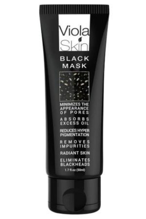 Viola Skin Black Mask