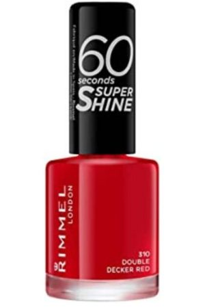 Rimmel 60 Seconds Super Shine Nail Polish Red
