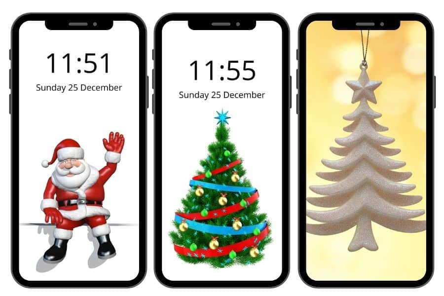 Christmas iPhone Wallpaper: 50+ Free Xmas Backgrounds to Download!