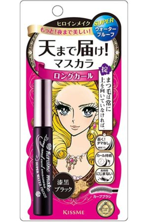 Isehan Heroine Make Long & Curl Mascara Waterproof Black