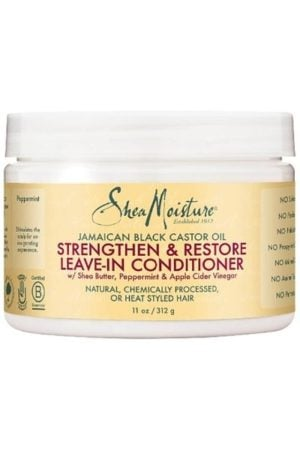 Shea Moisture Jamaican Black Castor Oil Strengthen/Grow and Restore Leave in Conditioner