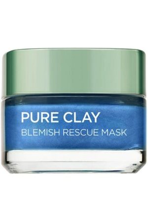 L'Oreal Paris Pure Clay Blemish Rescue Blue Algae Face Mask