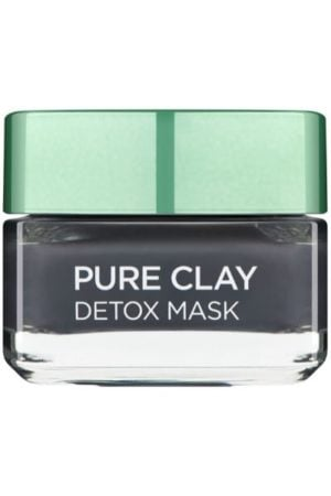 L'Oreal Paris Pure Clay Black Charcoal Detox Face Mask