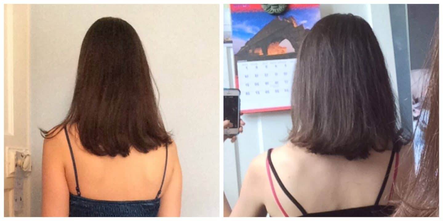 Hairburst review, Hairburst before and after results at 1 month