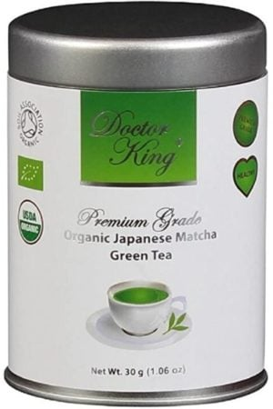 DOCTOR KING Organic Japanese Matcha Green Tea