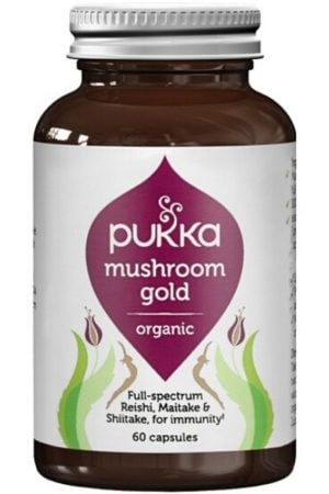 Pukka Mushroom Gold Organic Herbal Supplement