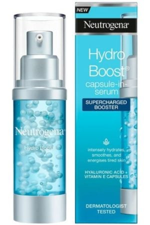 the best drugstore face serums in the UK, best hydrating serum for dry sensitive skin