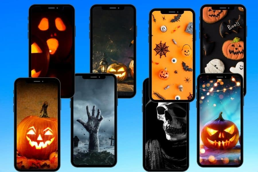 Free Wallpaper for iPhone   The Halloween Collection