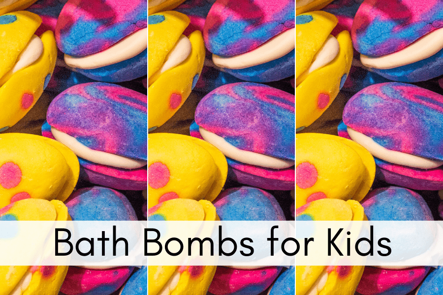 Bath Bombs for Kids