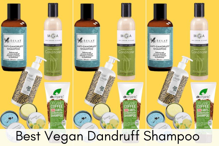 Best Vegan Dandruff Shampoo