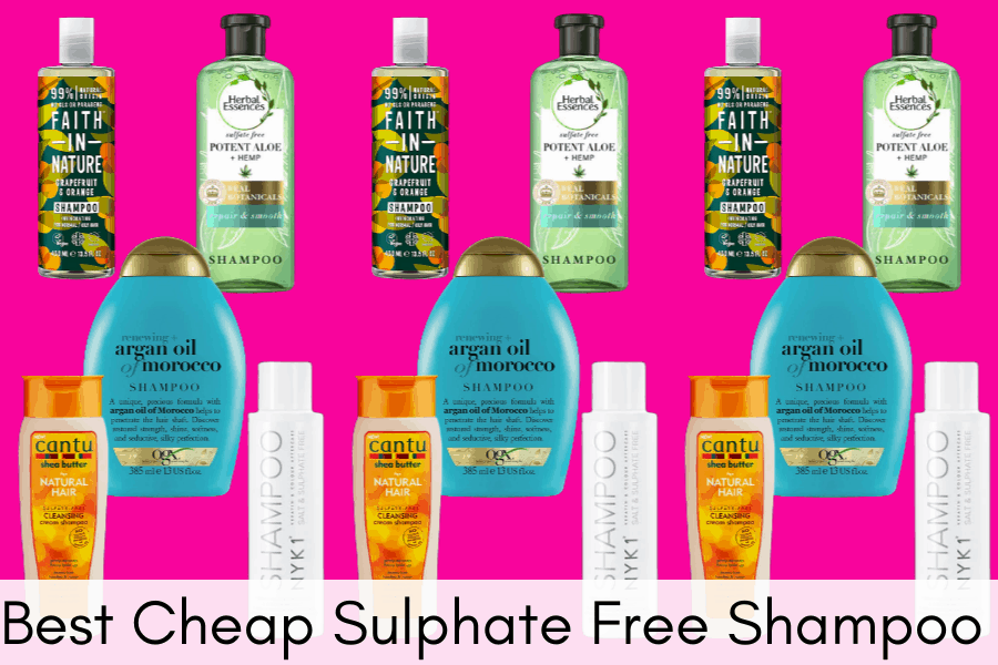Best Cheap Sulphate Free Shampoo