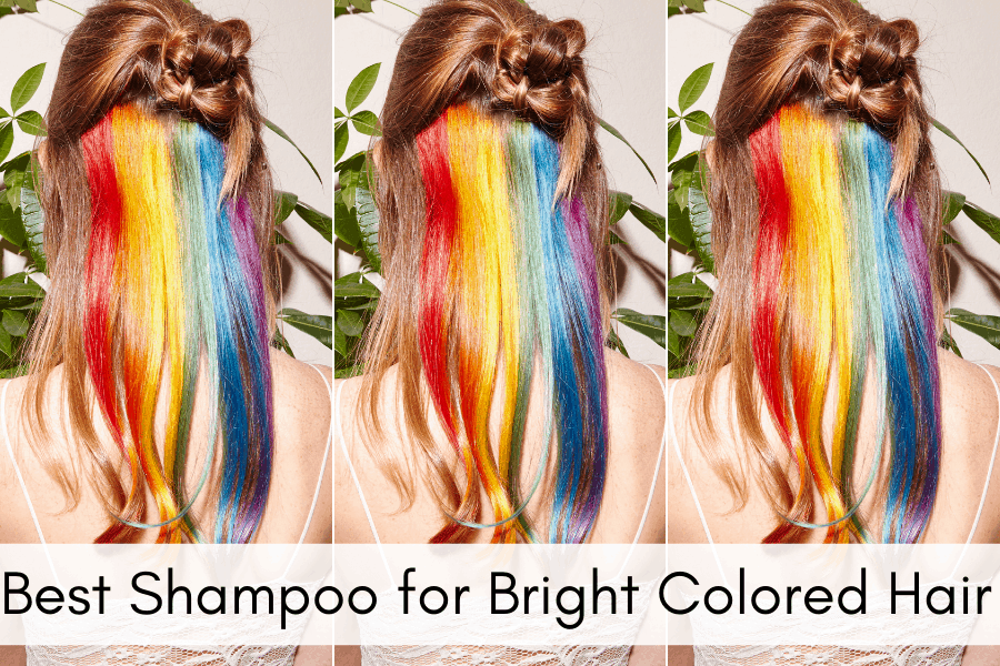 Best Shampoo for Bright Colored Hair