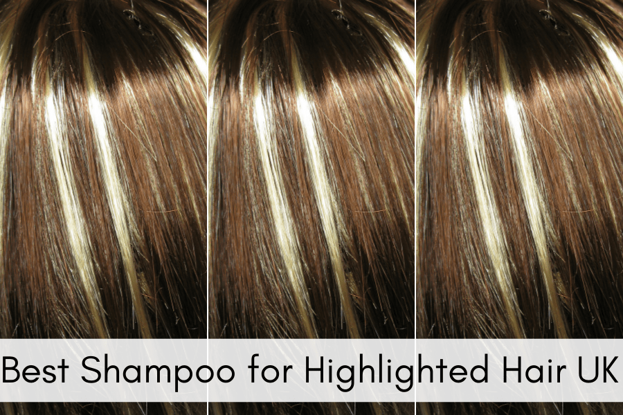 Best Shampoo for Highlighted Hair UK, stripey highlights, block colour hair, colour flashes in hair