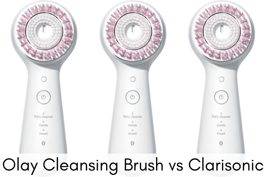 Olay Cleansing Brush vs Clarisonic