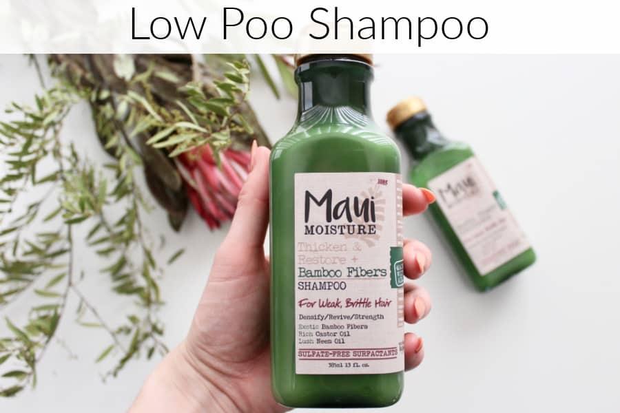 low poo shampoo, curly girl method, hair types, loo poo, low pow, light poo shampoo, low poo method