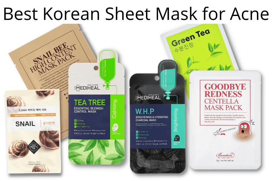 Best Korean Sheet Mask for Acne