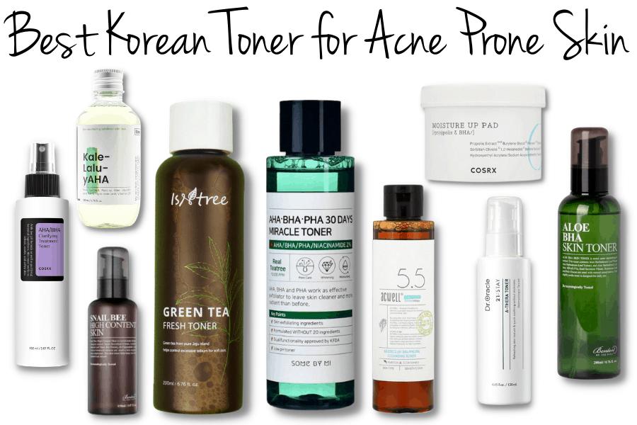 Best Korean Toner for Acne Prone Skin