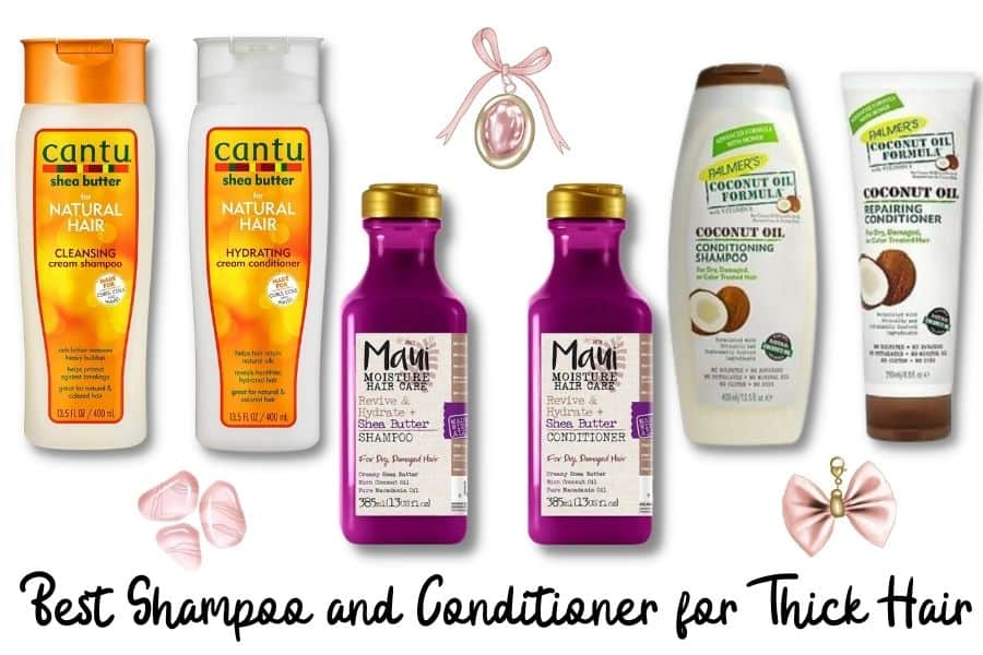 Best Shampoo and Conditioner for Thick Hair