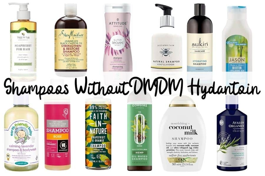 Shampoos Without DMDM Hydantoin