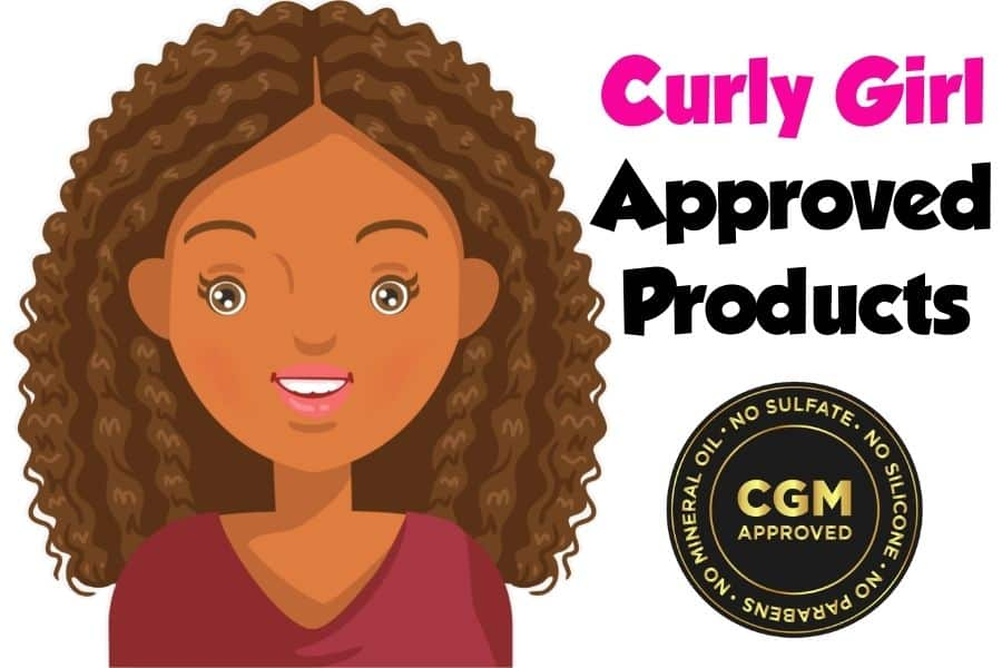 curly girl approved products