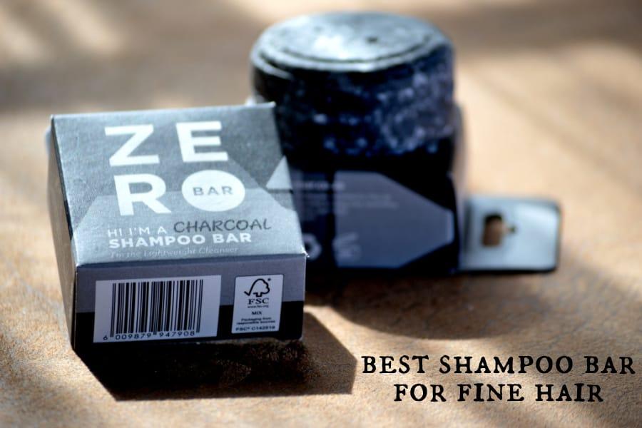 best shampoo bar for fine hair