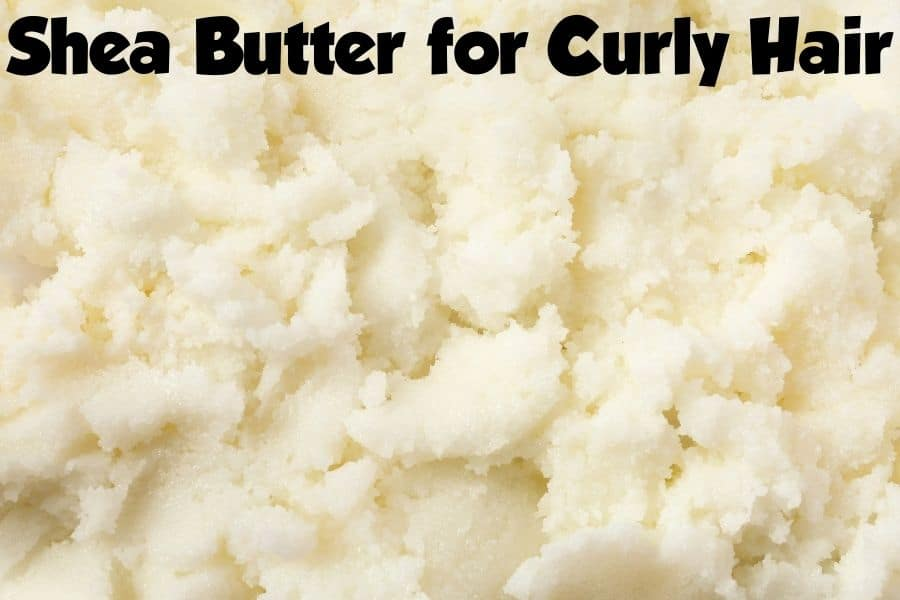 shea butter for curly hair